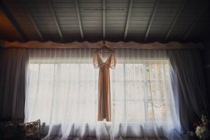Vestido de noiva: Luisa Meirelles - Foto: La Primeira Foto