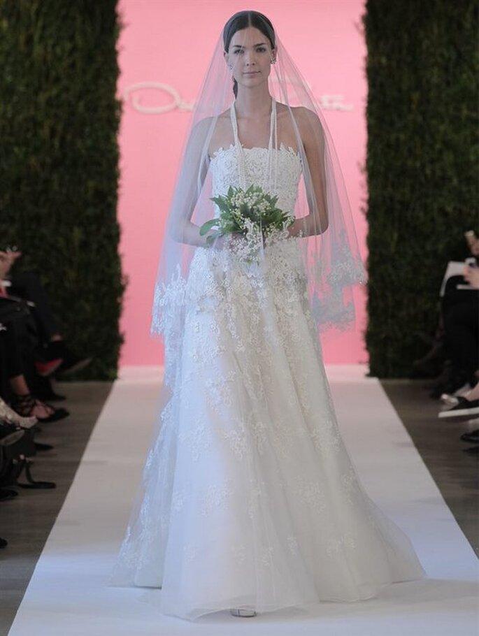 Oscar De La Renta 2015 suknia ślubna