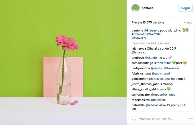 Foto via Instagram @Pantone
