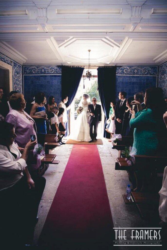 Entrata della sposa in chiesa - Foto: The Framers