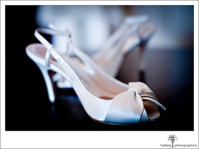 Le choix des chaussures de mariée mérite beaucoup d'attention - Photo : Tim Halberg