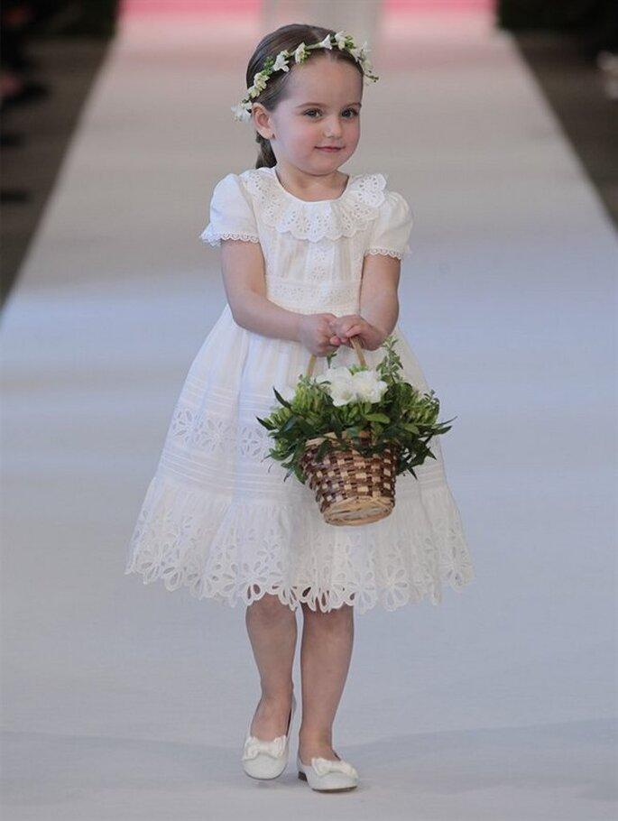 Oscar De La Renta 2015 sukienka dla druhen