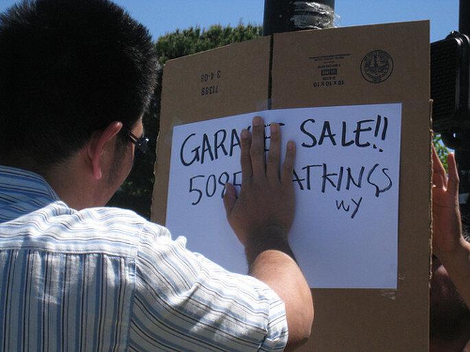 Vende las cosas que ya no usas y dona las que no se vendan