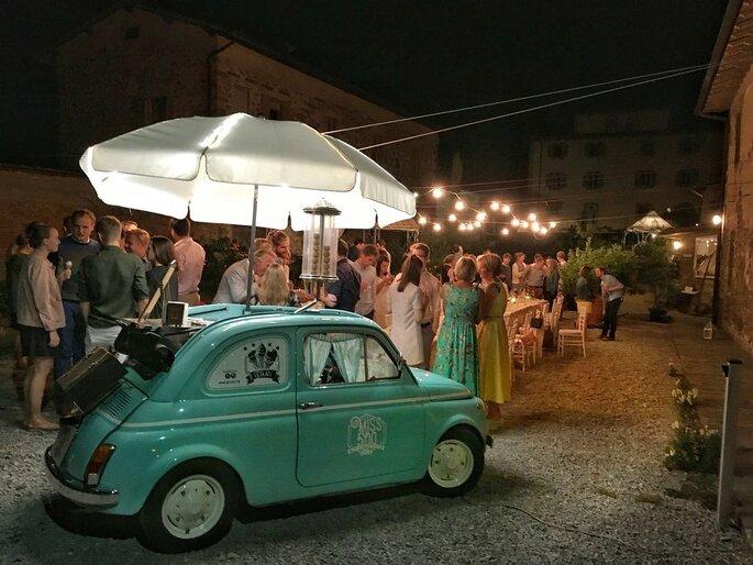 Partecipazioni Matrimonio Con Fiat 500.L Angolo Piu Dolce Delle Tue Nozze E Una Fiat D Epoca Scopri Miss500