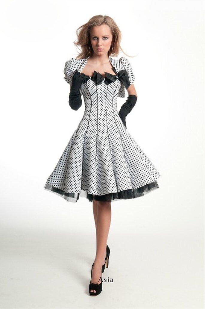 Robe de cocktail Oksana Mukha 2013, modèle Asia