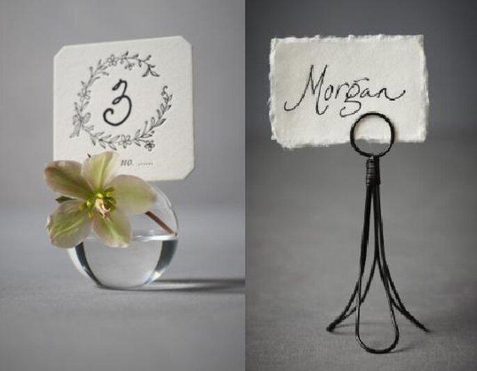 Florero para boda. Foto de BHLDN.