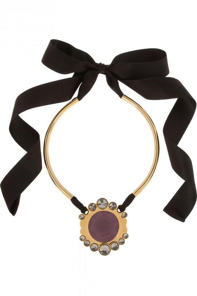 Statement necklaces para novia en tendencia - Foto Marni