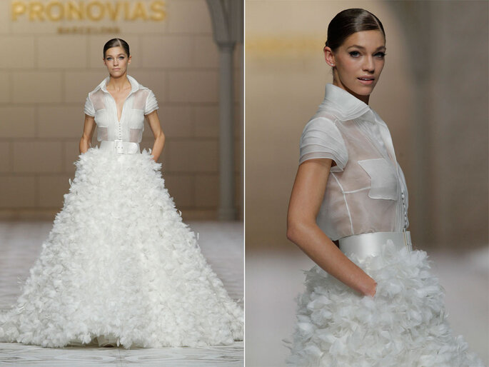 Pronovias 2015. Fotos: Barcelona Bridal Week