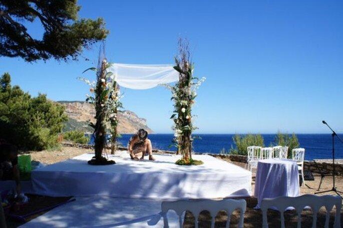 Rien de tel que de faire appel à un pro pour sa décoration de mariage - Photo : One Day Event