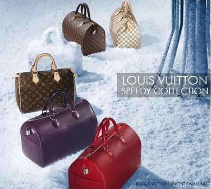 Alcune varianti della celebre Speedy di Louis Vuitton.