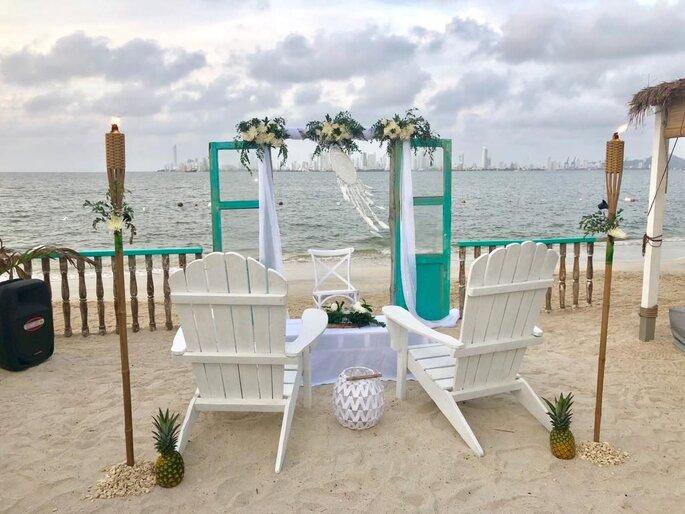 The Beach Cartagena Hotel para bodas