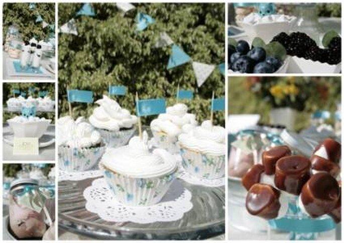 Die Candy Bar anstatt der Hochzeitstorte – Foto: JOY POP EVENTOS