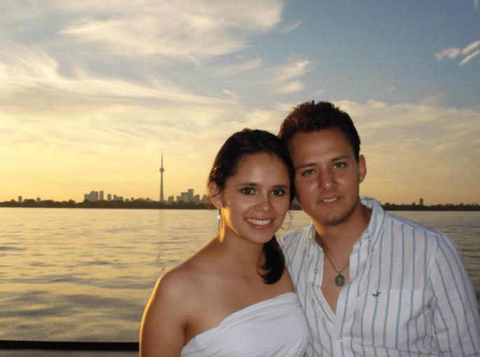 El compromiso de Monica y Ricardo. Fotografía personal