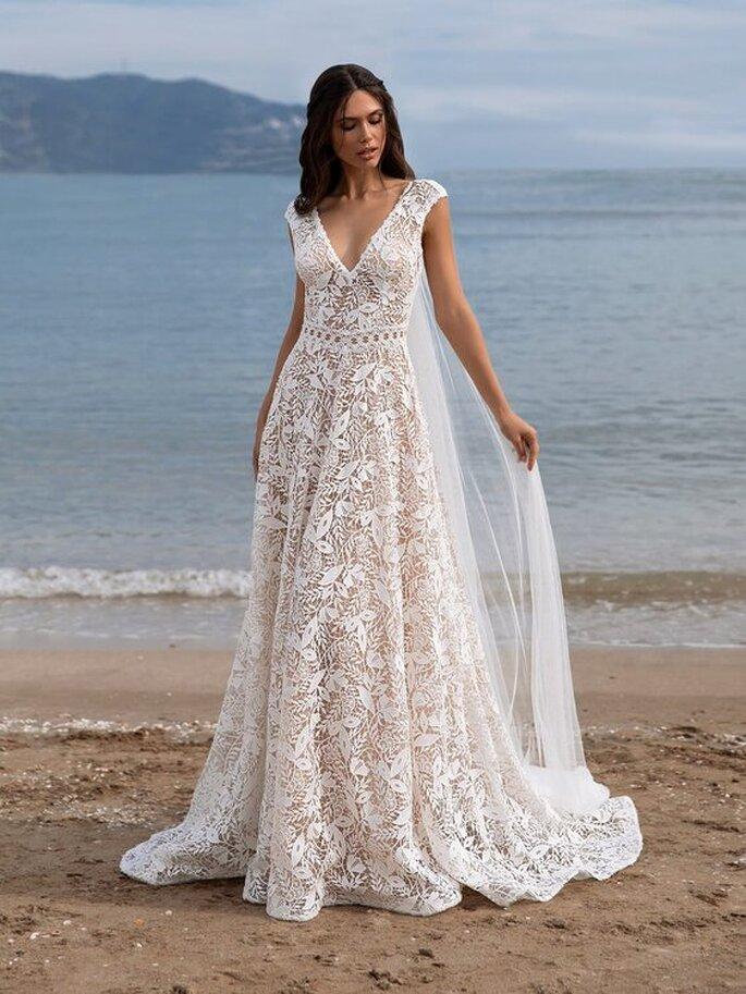robe mariée dentelle bohème
