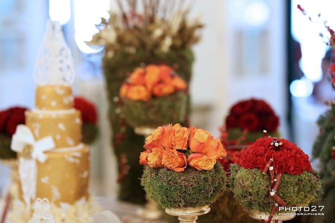 Gli allestimenti floreali de Il Petalo di Alessandra Ferretti