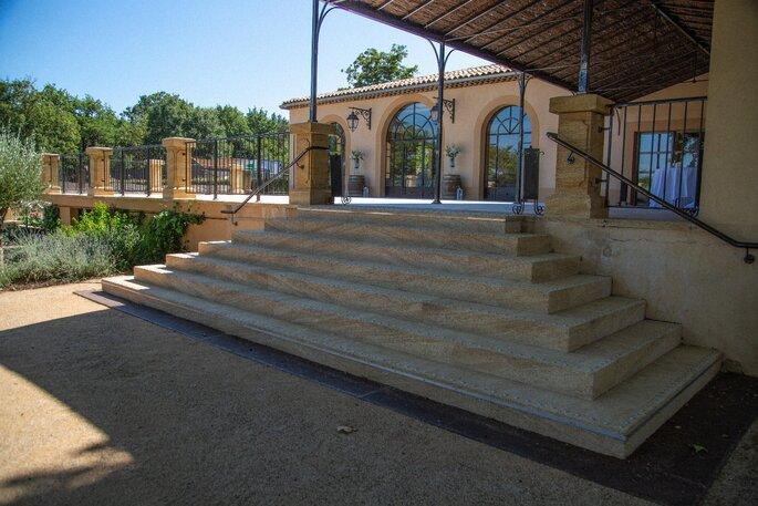 Le Domaine de Valbrillant, lieu de réception dans les Bouches-du-Rhône