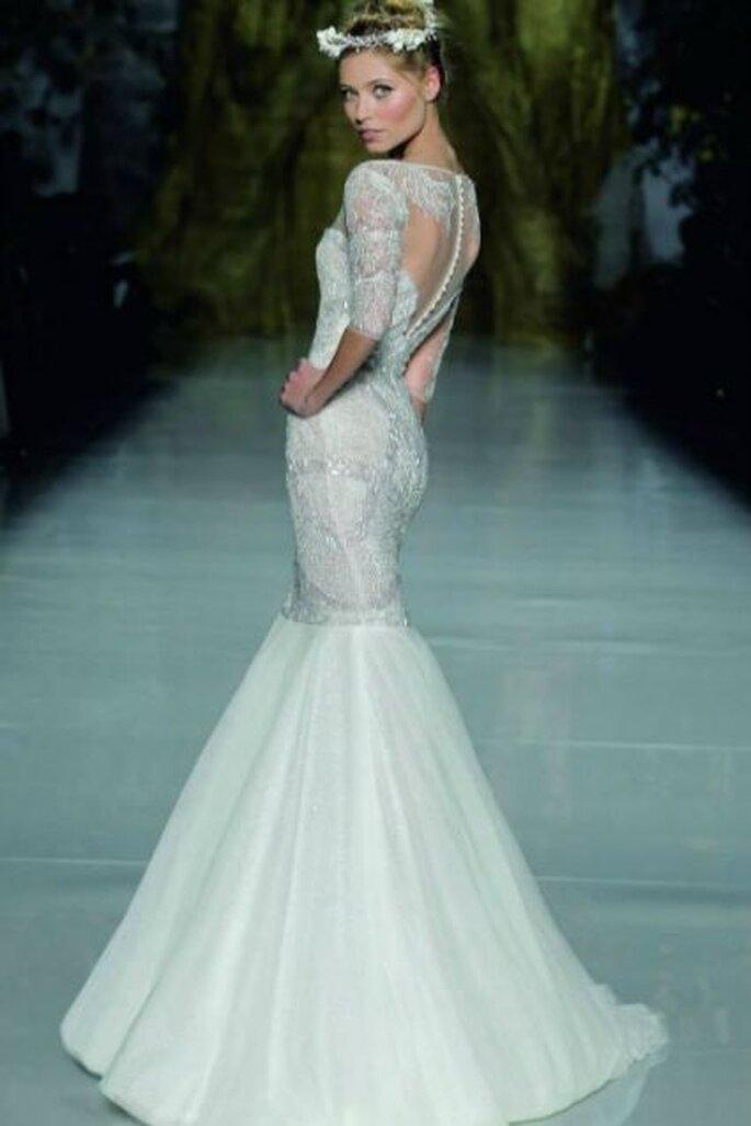 Brautkleider 2014: Sexy Roben für modische Bräute