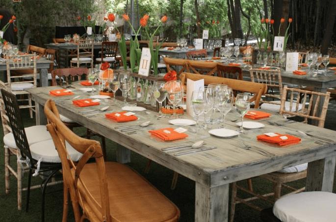 C mo decorar una boda con estilo r stico chic los mejores for Jardin quinta corregidor
