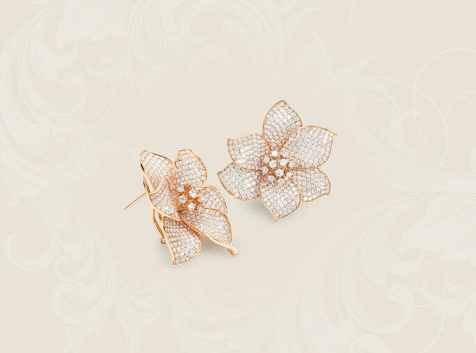 Joyas para novia: pendientes de oro