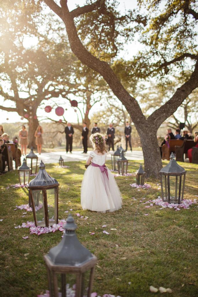 Decoración para un mágico camino hacia el altar - Koby & Terilyn Brown
