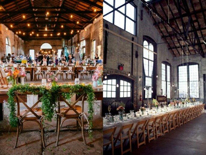 Locación ideal para boda urbana - Foto Tori Williams Photography y Isabelle Selby Photography
