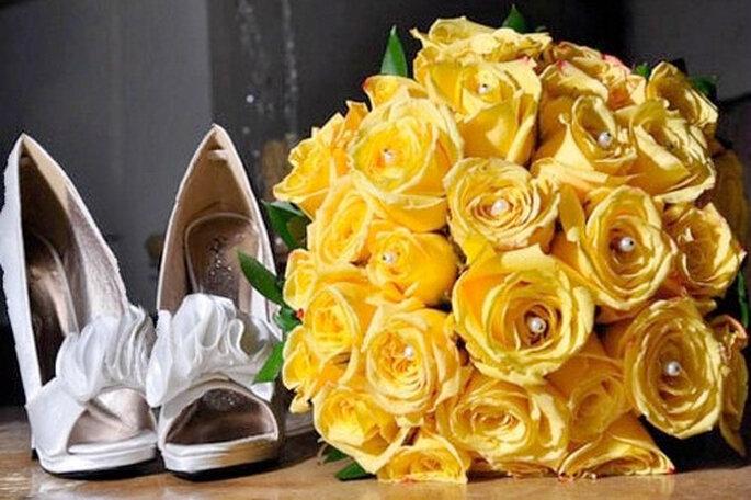 Choisir ses chaussures de mariée demandent beaucoup d'attention. Phto: Álvaro Delgado