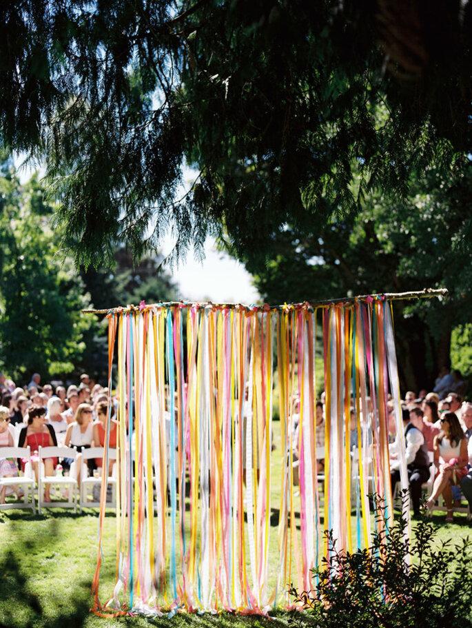 Altar de boda al aire libre - Ann-Kathrin Koch