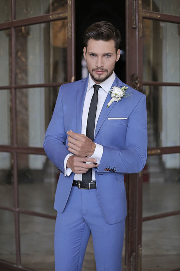 Chabrowy garnitur, fot. Giacomo Conti