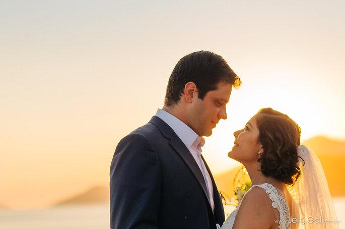 Casados na praia