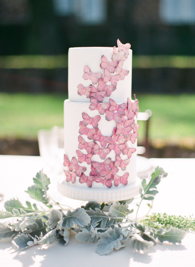 Butterfly cake - Photo: Marta Locklear Photography
