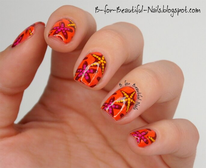 Orly Backed Stamping Nail Art 7 B for Beautiful Nails