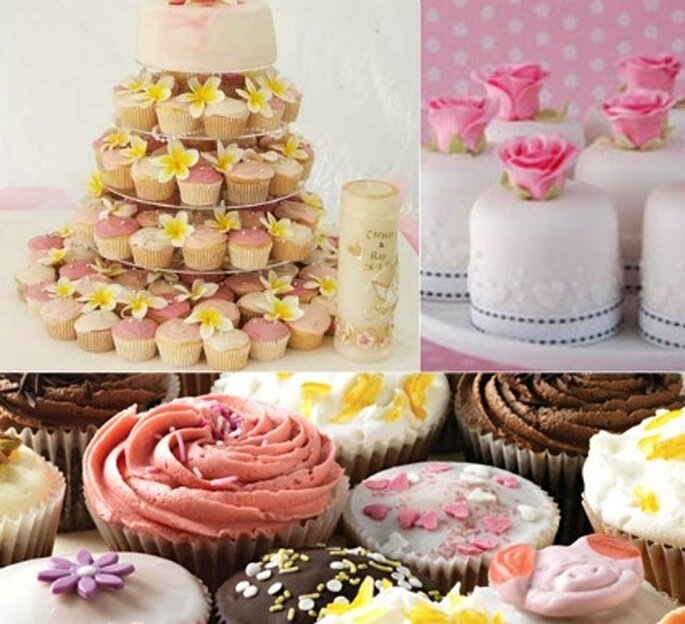 El cupcakes se presta para ofrecer tortas con masas blancas, negras, variedad de sabores de alguna forma es más versátil.