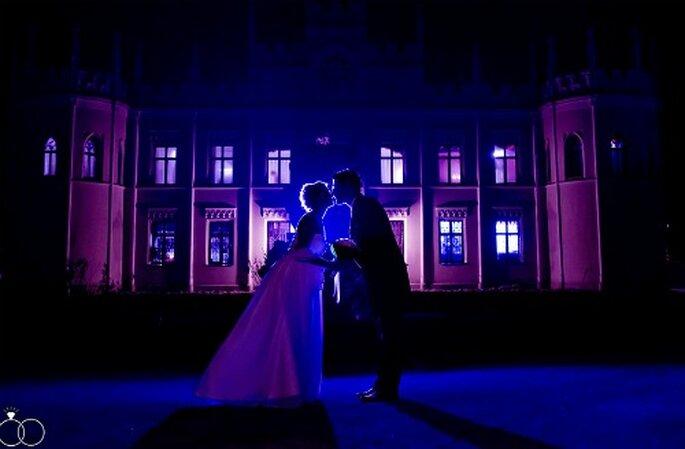 Auch bei Nacht eine Traumkulisse für Ihre Hochzeitsfotos. Foto: Katja Schünemann. www.ks-weddings.de