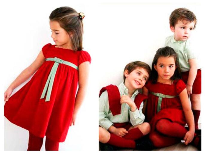 trajes niños cortejo