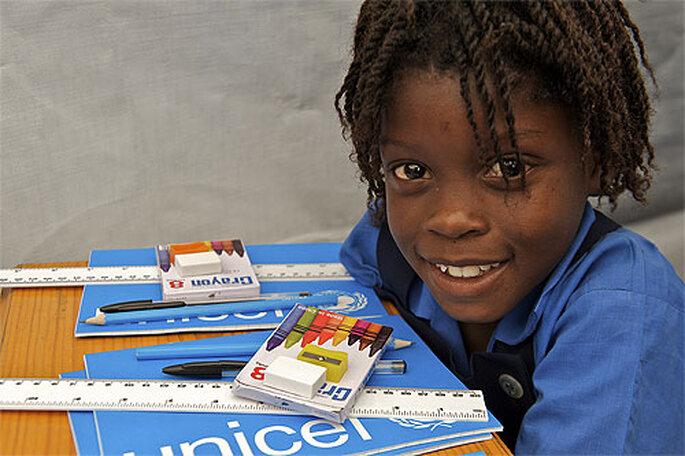 Haz un detalle solidario a tus invitados con UNICEF. Foto: UNICEF