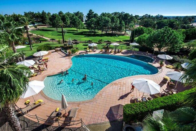 Piscina do Vale d'El Rei Suite & Villas Hotel