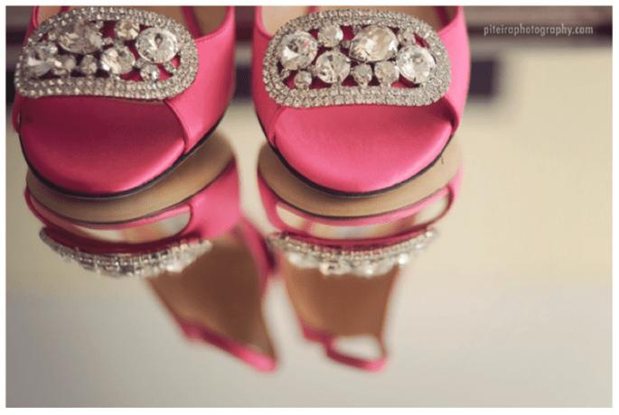 Presume tus increíbles zapatos de novia con lindas tomas - Foto piteira Photography