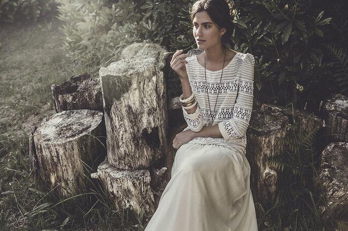 vestido de noiva vintage anos 70
