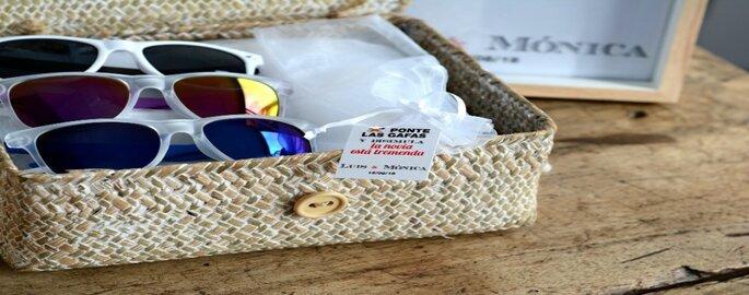 gafas de sol bodas