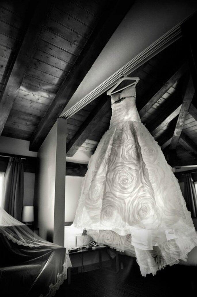 El vestido de Silvia, de Rosa Clará- Foto: Víctor Laxe