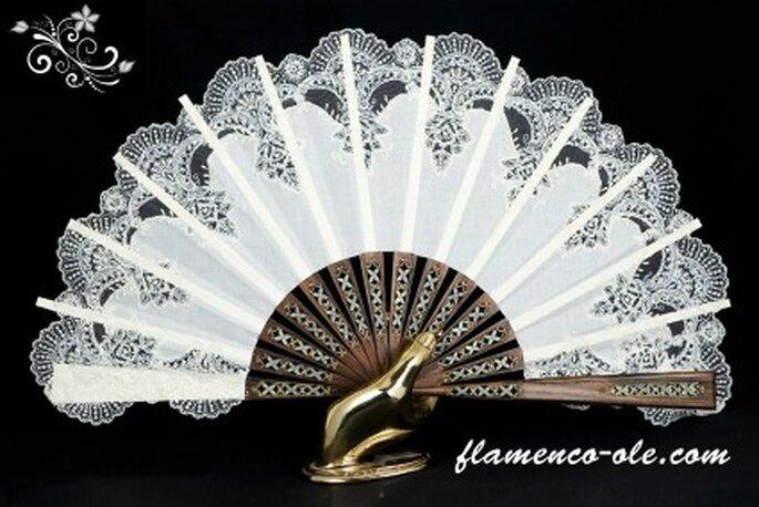 Abanico para novia- Foto: Flamenco olé