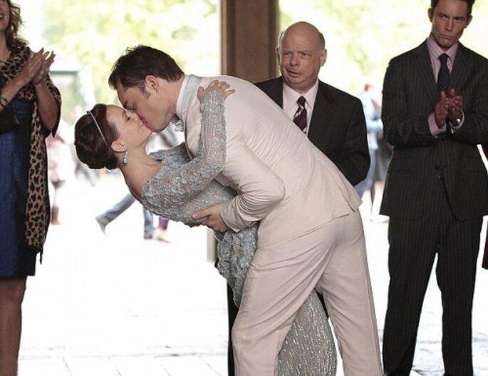 """Look de novia romántico para una boda en invierno inspirado en """"Gossip Girl"""" - Foto The CW"""