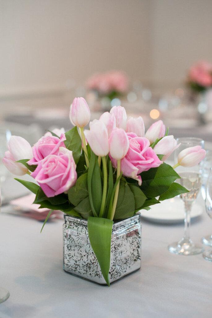 decoración con tulipanes -Robert & Kathleen Photographers