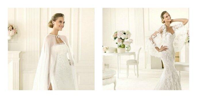 2 abiti dalla collezione Manuel Mota 2013 per Pronovias. Foto: pronovias.it