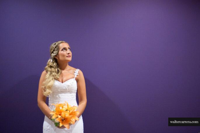 La sencillez en el maquillaje de la novia, la decoración y las fotos ha ganado mucha fuerza. Foto: Walter Carrera
