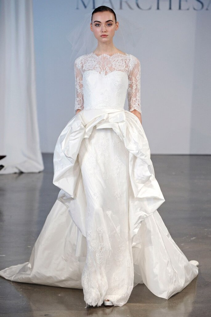 Vestido de novia Marchesa Primavera 2014