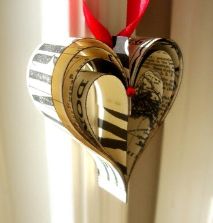 Décoration coeur - PaperPolaroid sur Etsy.com