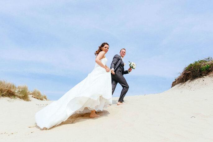 Online dating eindigt in het huwelijk