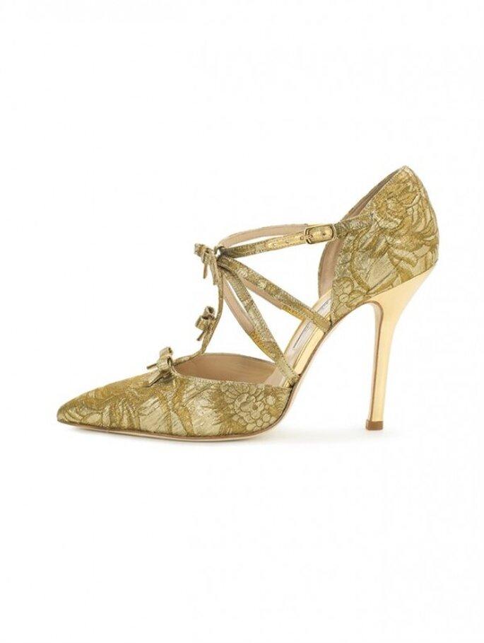 Zapatos de fiesta que transformarán tu look al instante - Foto Oscar de la Renta
