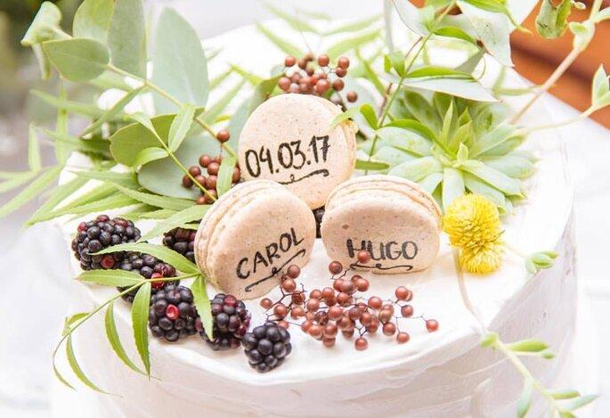 May Macarons - mini wedding